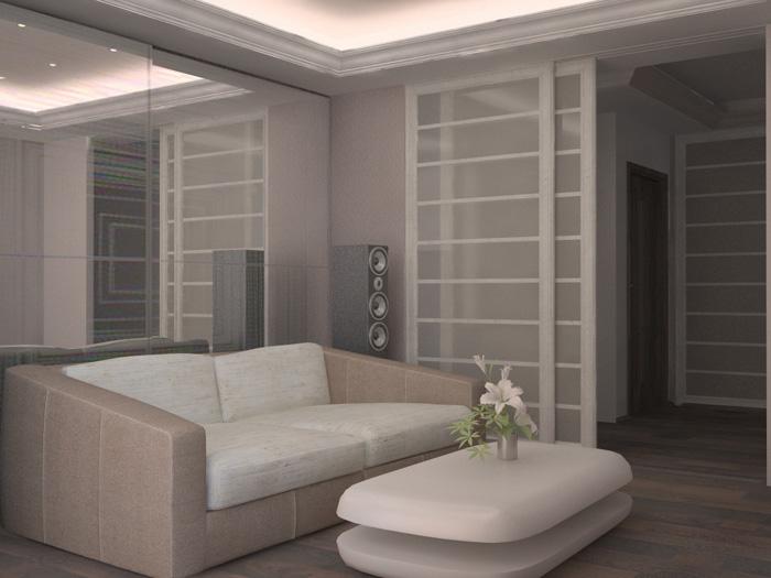 Разработка интерьера квартиры на Академической, Санкт-Петербург