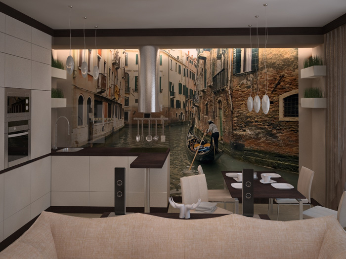 Дизайн квартиры на Свободном
