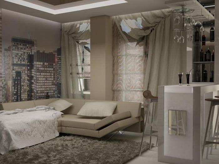 дизайн квартиры на Южном Берегу