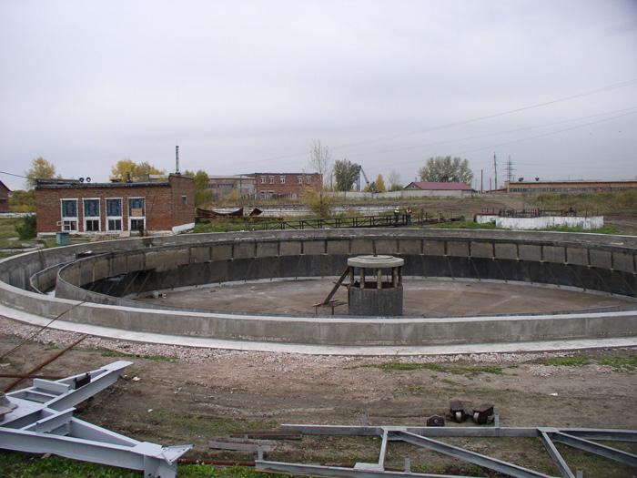 капитальный ремонт левобережных очистных сооружений