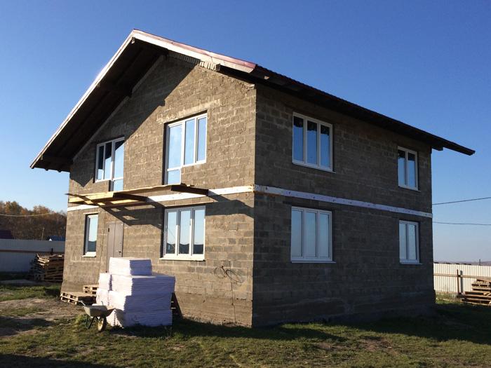 строим дом из теплоблоков в Красноярске