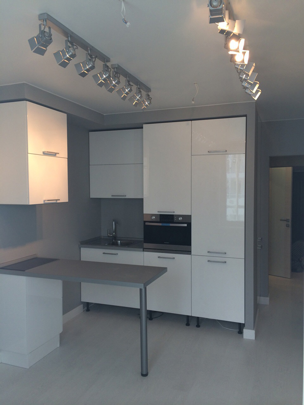 выполнен ремонт квартиры на ул. 9 Мая в Красноярске