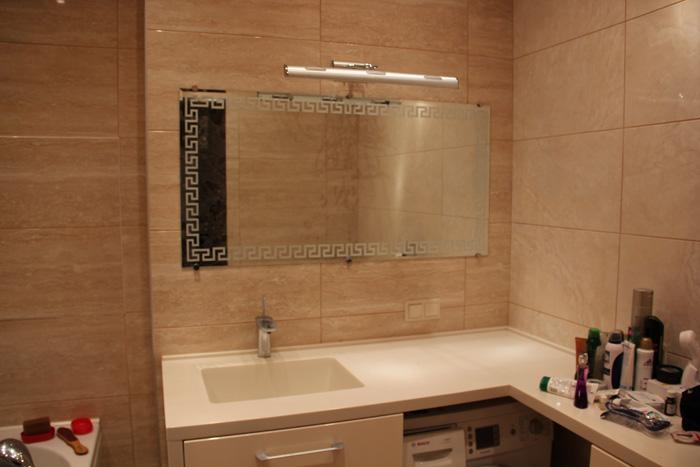 элитный ремонт ванной комнаты на ул.Крайняя