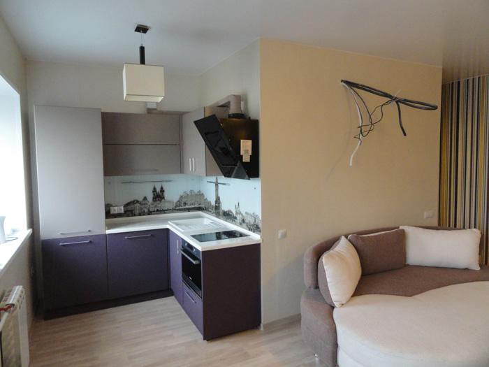 ремонт и отделка квартиры на ул.Сурикова